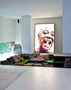 En Afrique, un mélange de styles coloré - Marie Claire Maison