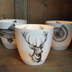 Deer / Stag Head Votive Candle holder
