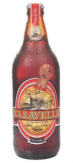 Cerveja Karavelle Red Ale, estilo Irish Red Ale, produzida por Cervejaria Karavelle, Brasil. 4.5% ABV de álcool.