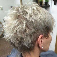 2017 Besten Kurze Haarschnitte für Ältere Frauen // #2017 #ältere #Besten #Frauen #für #Haarschnitte #kurze