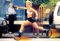 Best way to prepare and train for a race.  After only a week of training with Kangoo Jumps, there is an amazing increase in cardio-respiratory endurance. Athletes experience this same increase in VO2 (volume of oxygen), making the shoes an excellent tool for improving the endurance required for competition sports.  #racetraining #endurancetraining