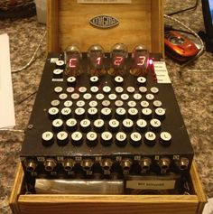 Cracking codes! Building an Arduino-powered Enigma machine http://blog.atmel.com/2013/10/08/building-an-arduino-powered-enigma-machine