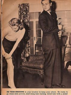 Hookup Tips For Single Ladies From 1938
