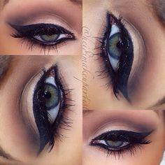 Perfect eye make up Gorgeous Eyes, Gorgeous Makeup, Pretty Makeup, Love Makeup, Makeup Inspo, Makeup Inspiration, Makeup Looks, Makeup Ideas, Green Makeup