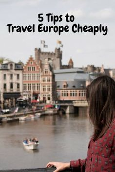 How to Travel Cheap in Europe: 5 Tips to help you save money on your trip through Europe! From lodging to food to transportation, here's how you can travel Europe on a budget. cheap 5 Tips on How to Travel Cheap in Europe Travel Europe Cheap, Europe On A Budget, Backpacking Europe, Packing Tips For Travel, European Travel, Italy Travel, Travel Usa, Travel Essentials, Vacation Travel