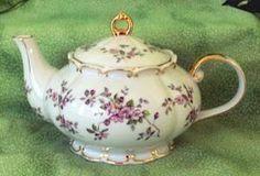 Princess 5 Cup Teapot via Roses-and-Teacups.com