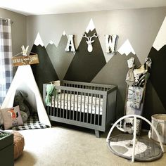 T-6 Days and wanted to show off the little man's nursery, wife and I are beyond excited for our 1st : BabyBumps