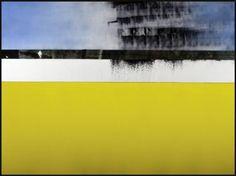 """Saatchi Art Artist Eugene Wood; Painting, """"Rain over a sea of cowardice"""" #art"""