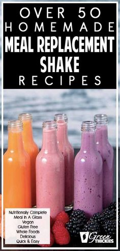 This complete guide shows you everything you need to know about meal replacement shakes and how life changing they can be. I show you how to easily use meal replacement shakes for weight loss, detox, cleanse, meal replacement shake diet plans, and deli Shake Diet Plan, Meal Replacement Shakes Homemade, Smoothie Recipes Meal Replacement, Shake Recipes, Detox Recipes, Healthy Recipes, Drink Recipes, Beef Recipes, Healthy Detox