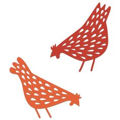 Chicken Cross Stitch Pattern 4x5 Inches Pdf File Instant