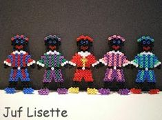 Zwarte Piet from Pearler Beads Diy For Kids, Cool Kids, Crafts For Kids, Arts And Crafts, St Nicholas Day, Iron Beads, Melting Beads, Pearler Beads, Winter Christmas