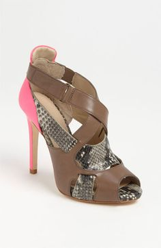 Like these! Have them with the pink and yellow heel.  On sale at L  Joan & David Odelia Pump
