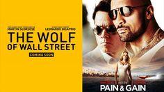 Zwei Trailer die rocken  The Wolf of Wall Street und PAIN  GAIN