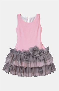 Isobella & Chloe 'Plié' Dress-cute for birthday dress Little Dresses, Little Girl Dresses, Cute Dresses, Girls Dresses, Toddler Dress, Baby Dress, Little Girl Fashion, Kids Fashion, Girl Dress Patterns