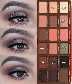 Too Faced Peach Palette look – doriane renouard – - makeup Peach Pallette Too Faced, Palette Too Faced, Peach Palette Looks, Peach Pallete, Too Faced Peach, Toofaced Peach Palette, Too Faced Eyeshadow, Peach Eyeshadow, Too Faced Makeup