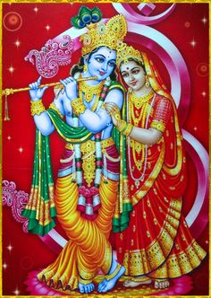 """✨ RADHA KRISHNA ✨ """"One who thinks himself lower than grass, who is more tolerant than a tree, and who does not expect personal honor but is always prepared to give respect to others can very easily always chant the holy name of the Lord.""""~Chaitanya..."""