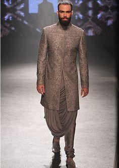 By designer Shantanu & Nikhil. Shop for your wedding trousseau, with a personal shopper & stylist in India - Bridelan, visit our website www.bridelan.com #Bridelan #Indiangroom