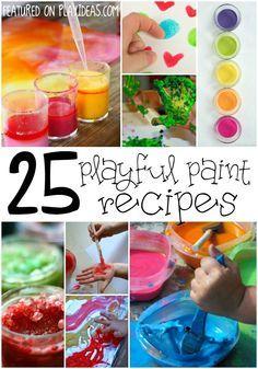 25 Playful Paint Recipes
