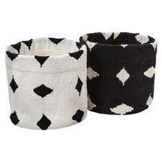 cotton basket set