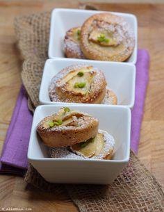 Mini cakes hazelnut apple, dairy free
