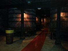 interior de las Bodegas Bilbainas #LRTAHaro2013