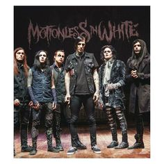 Motionless In White ❤ liked on Polyvore featuring miw