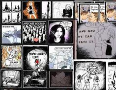 Wish I could draw/create like this. Peyton Sawyer from one tree hill's art.