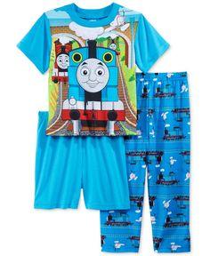 96ee75b84315b Thomas & Friends 3-Pc. Pajama Set, Little Boys (2-7) & Reviews - Pajamas -  Kids - Macy's