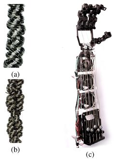 High-Performance Robotic Muscles from Conductive Nylon Sewing Thread-Image. From Disney Research (june 2015)