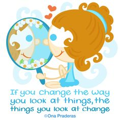 If you change the way you look at things, the things you look at change #qotd #positivequotes #happydoodlequotes http://www.onapraderas.com/look-at-things-differently/