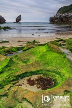 Buelna beach, Asturias, Spain                                                                                                                                                                                 Más