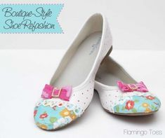 20 Ideas para decorar tus zapatos DIY