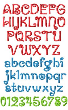 Block Letter hand embroidery fonts   block letter alphabet ...