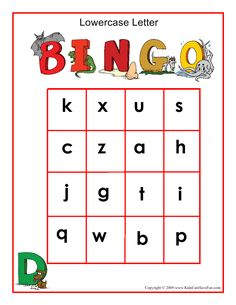 Printable alphabet bingo cards homeschool roundup pinterest lowercase letters bingo game spiritdancerdesigns Image collections