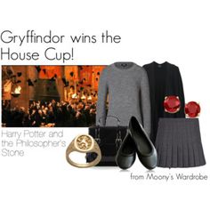 Gryffindor wins the House Cup!