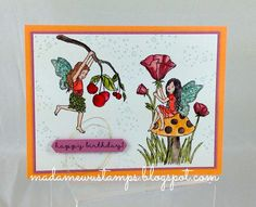 Stampin' Up! Fairy Celebration