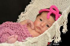 Barbante 100% algodão natural. Produzida apenas para recém nascidos.  Tamanho aproximado: 0,80cm x 0,40cm R$60,00