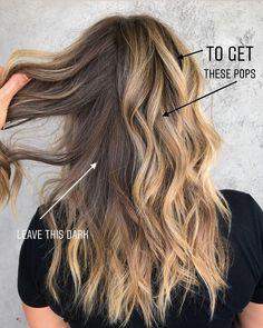 Blonde Foils, Brown Blonde Hair, Hair Color Balayage, Hair Highlights, Hair Foils, T Section Highlights, Blondish Brown Hair, Blonde Honey, Honey Balayage