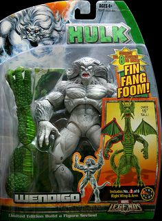 Marvel Legends Fin Fang Foom Series Wendigo