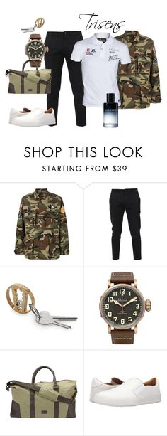 """""""Military style"""" by trisens on Polyvore featuring Yves Saint Laurent, Department 5, 1 Voice, Vivienne Westwood, Christian Dior, men's fashion und menswear"""