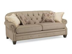 Shop for Flexsteel Fabric Sofa, 7386-31, and other Living Room Sofas at Hickory Furniture Mart in Hickory, NC. Ageless comfort in a vintage design. Old-world style with all the benefits of new-world construction. Champion features favorite classic details, from its button-tufted back to its rolled arms and base rail lined with nail head trim.