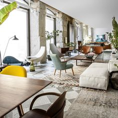 A glance at our Mejía Lequerica's store interior...  #batavia #bataviastore #madrid #design #furniture #decoration #interiordesign