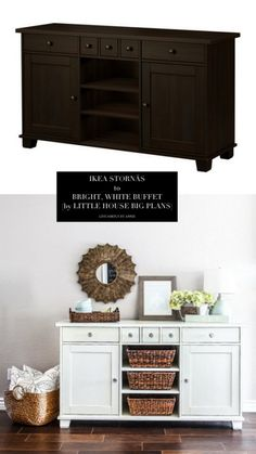 10 Totally Ingenious, Ridiculously Stylish IKEA Hacks // Live Simply by Annie - Obsessed with some of these!