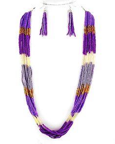 Capri Necklace & Earring Set $30