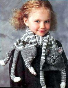 Шарф-кот (Diy) / Вязание / Модный сайт о стильной переделке одежды и интерьера
