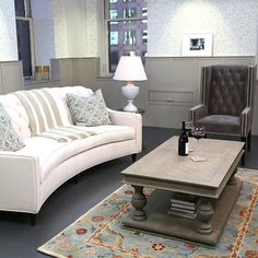 Found: Our Favorite Pieces From Olivia Pope's Living Room: Scandal is back for a brand-new season, and to celebrate, we're sharing tips on how to steal Olivia Pope's polished, traditional style.