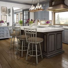 AMISCO - Momentum Stool (41517) - Furniture - Kitchen - Countryside collection - Traditional - Swivel stool