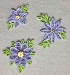 Fait main... par theCook: Did you see me quilling again?