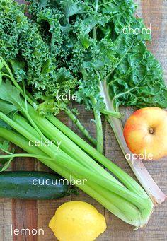 Sweet Greens Juice - In Sonnet's Kitchen