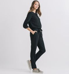 Combinaison-pantalon+Femme